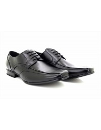 Goor Brown Gibson Square Toe Formal Lace Up Shoes Size UK 7