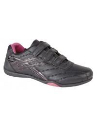 Ladies Girls Dek RAVEN Comfort Touch Fastening Trainers