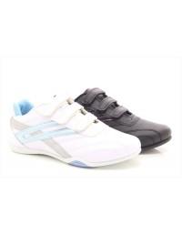 Ladies Girls Dek RAVEN T657 Comfort Touch Fastening Trainers