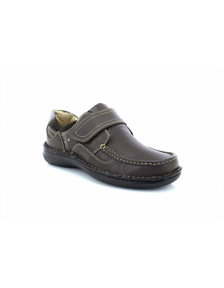 160e19fbd9 Dr Keller Pluto Leather Upper Touch Fastening Smart Formal Shoes