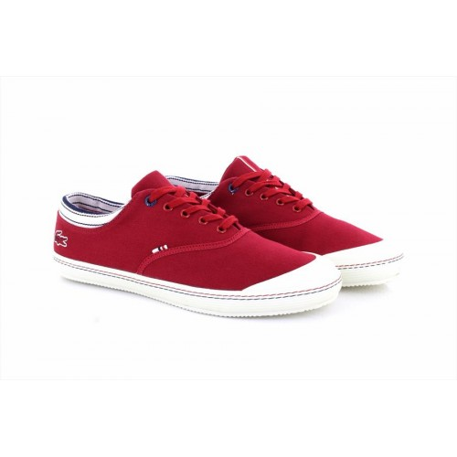 buying new dirt cheap store Details about Lacoste Ortholite Rene II 2 Mesh Pique Mens Trainers Red
