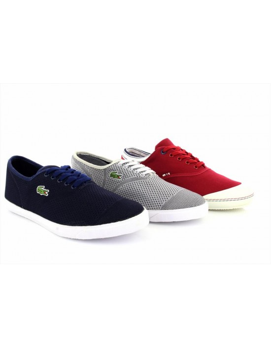 Mens Lacoste Ortholite Rene II Comfort Pique Trainers Casual Shoes