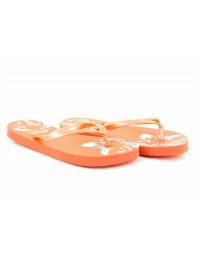 Ladies Girls Flip Flops Sandals Floral Print Black Teal Orange UK 3/4 5/6 7/8