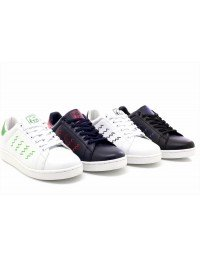 Mens Endorsed Smith Lace Up White Black Navy Red Comfort Sports Trainers