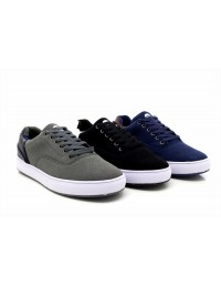 Mens New Attwood Deluxe Canvas Skater Shoes Summer Trainers