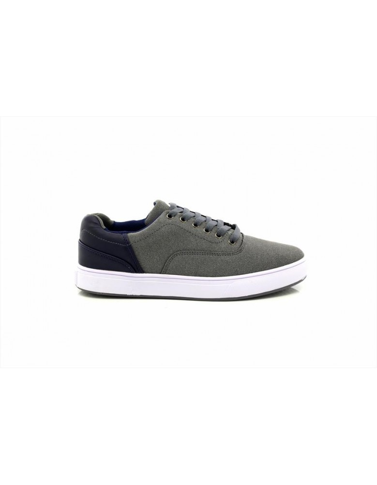 Mens New Attwood Deluxe Canvas Skater Shoes Plimsolls Summer Trainers