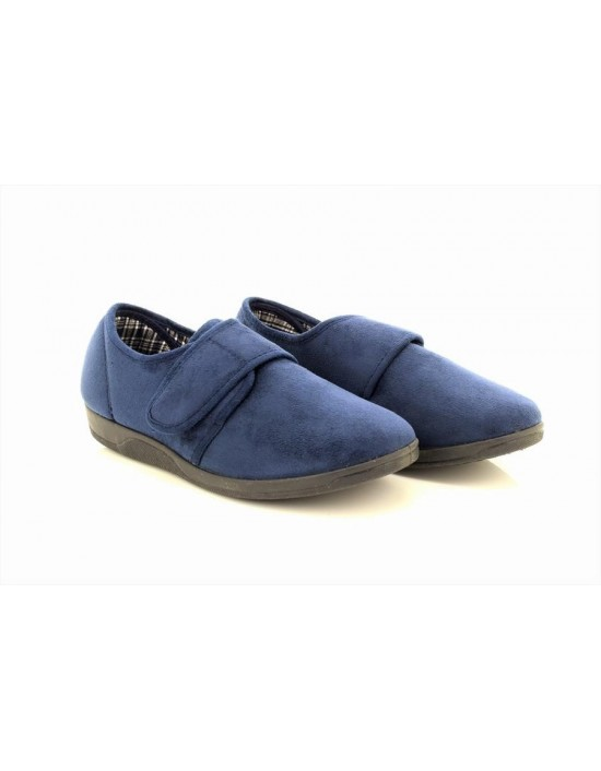Sleepers TOM Touch Fastening Extra Comfort Memory Sock Slippers