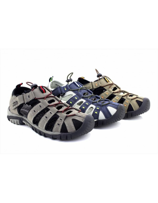 c59ce7496aa PDQ Ted Trekking Trail Toggle Touch Fastening Summer Sandals - ShuCentre