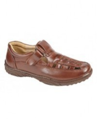 Scimitar M 657 Closed Toe Leather Lined Sandal Shoes