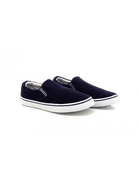 Dek Mark Slip On Yachting Deck Summer Boat Canvas Shoes