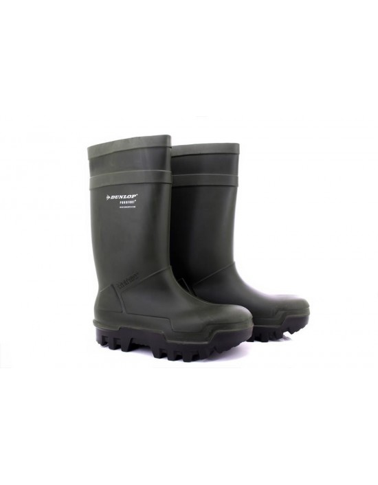 Dunlop PUROFORT THERMO W263 Full Safety Thermal Heavy Duty Wellingtons