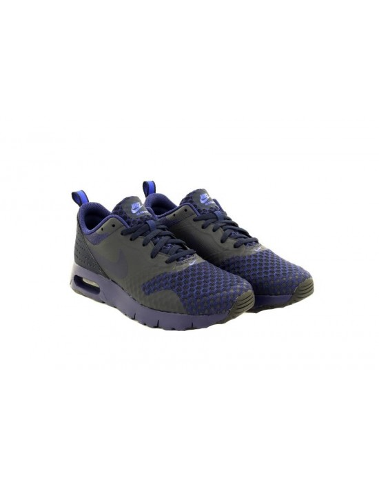 Nike Boys Girls Air Max Tavas Gs Navy Trainers 814443445