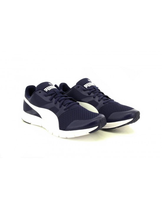 Puma Flexracer Trainers Runners Lace Up Shoes Breathable Mens Boys