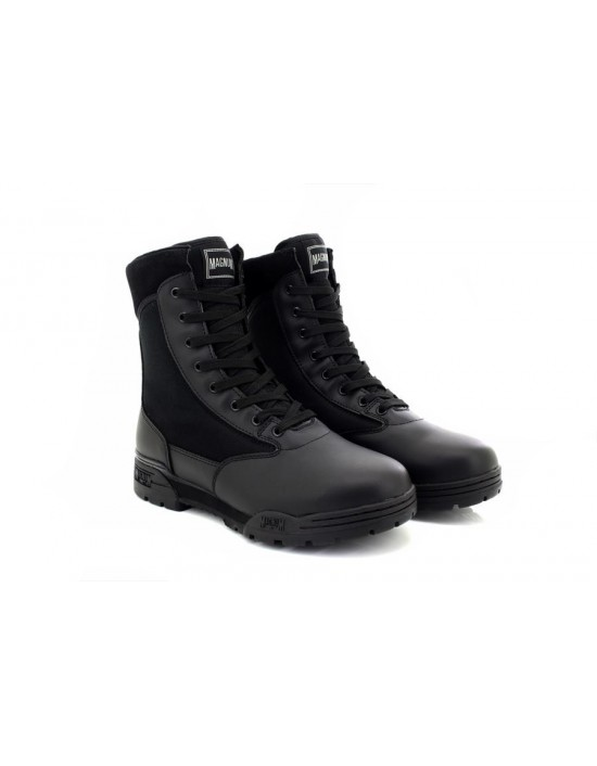 ladies-military-magnum-classic-leather-textile-boots