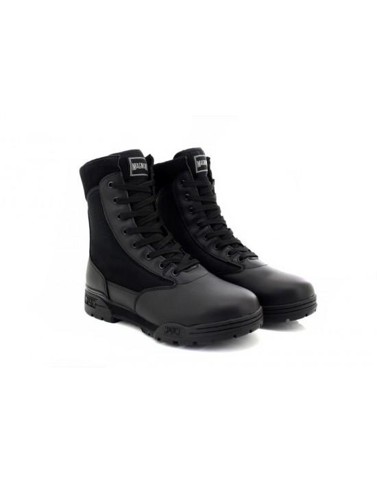 ladies-military-magnum-classic-leather-textile-boots