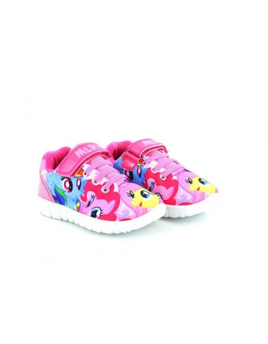 NEW My Little Pony Plymouth Touch Fastening Super Soft Trainers MLP