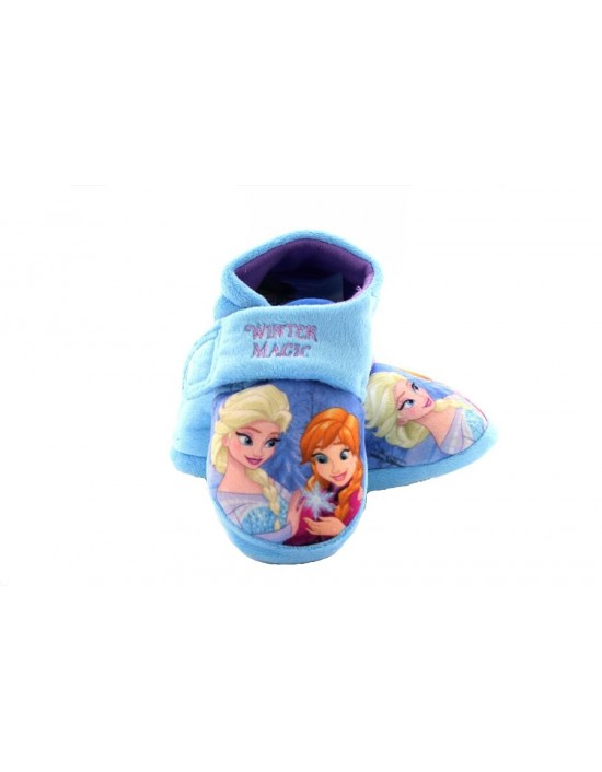 Childrens Kids Girls Disney Frozen Anna Elsa Daisy Character Slippers