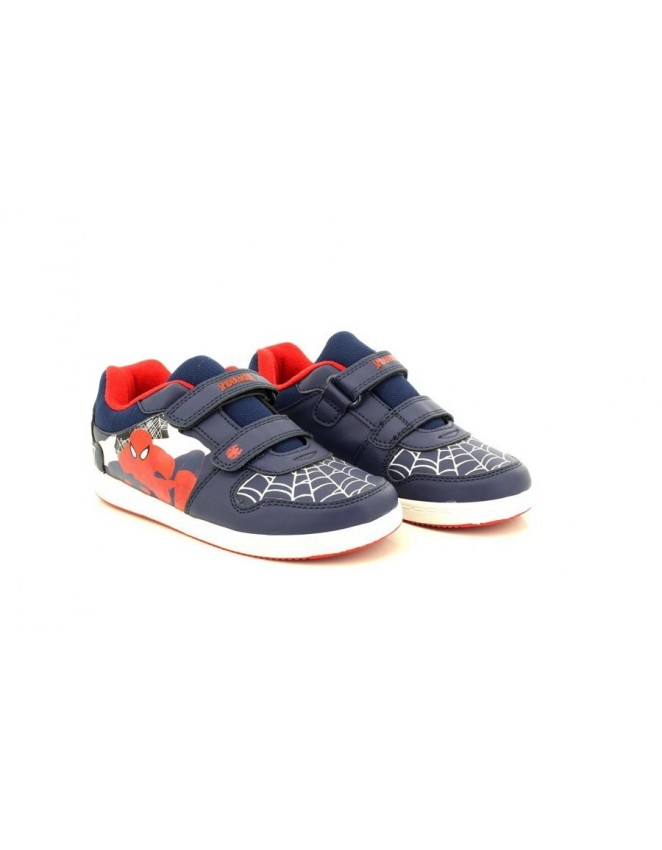 Spiderman Red Official Ultimate Twin Velcro Summer Canvas Trainers