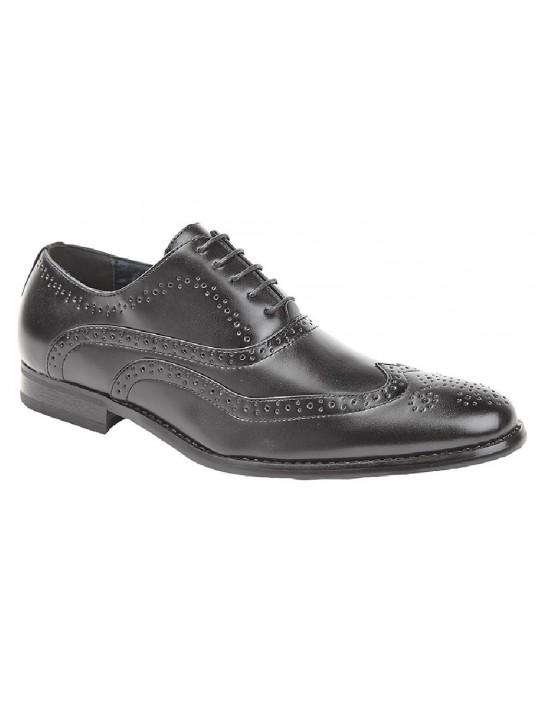 Mens Goor M370 Classic Smart Brogue Oxford Shoes