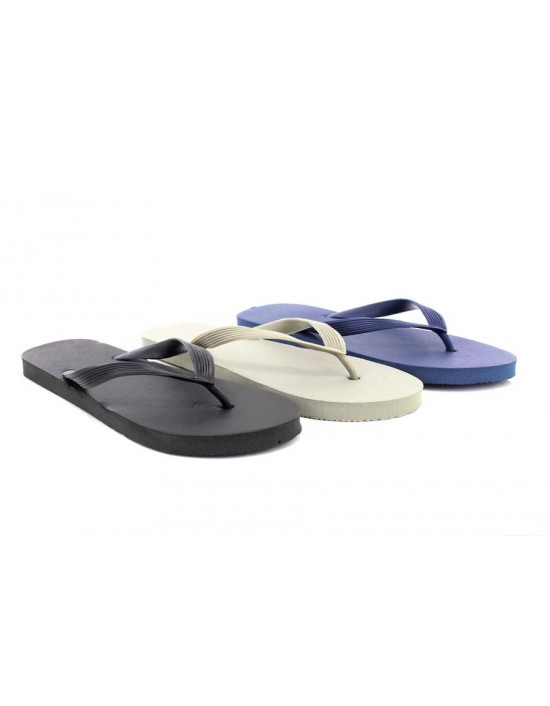 Original Basic Textured Slip On Summer Beach Bathroom Garden Flip Flops