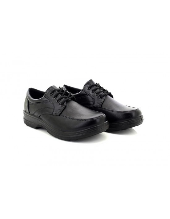 Dr Patrick James Wide Fit Casual Othopaedic Lace Up Shoes