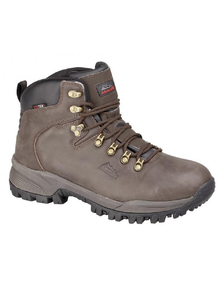 556ed3f0706 Johnscliffe CANYON M027 Unisex Leather Jontex Hiking Boots