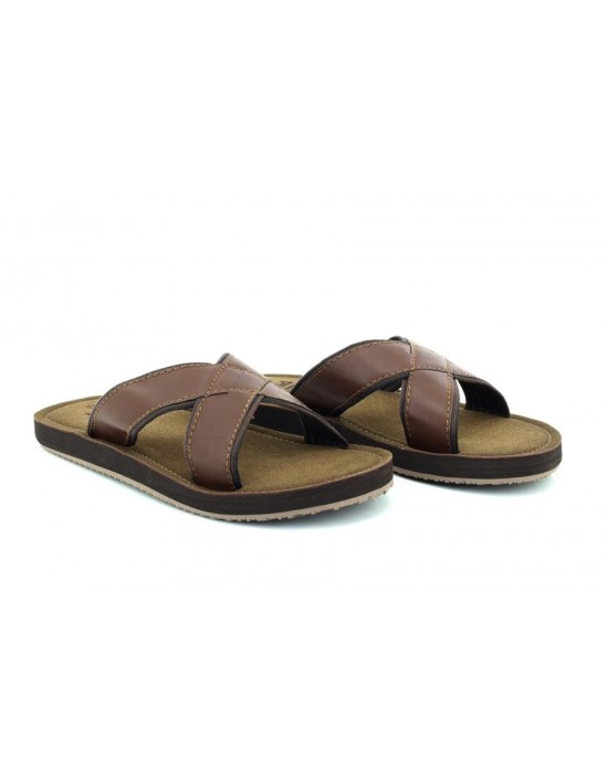 PDQ Jimmy M9546 Crossover Mule Slip on Summer Beach Walking Flip Flop Sandals
