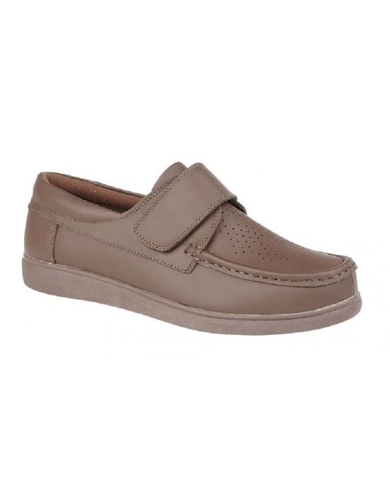 Unisex DEK U9529 Touch Fasten Leather Bowling Shoes