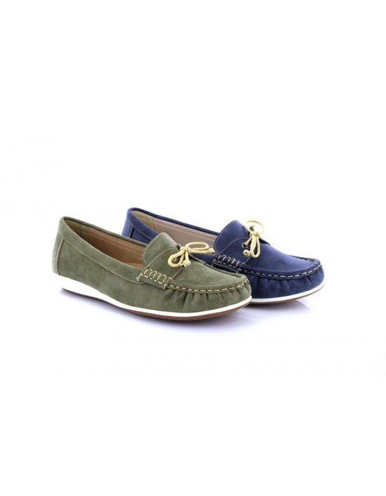 23b074368 Boulevard Nina L468 Apron Saddle Summer Casual Moccasin Canvas Driving Shoes  Boulevard Nina L468 Apron.