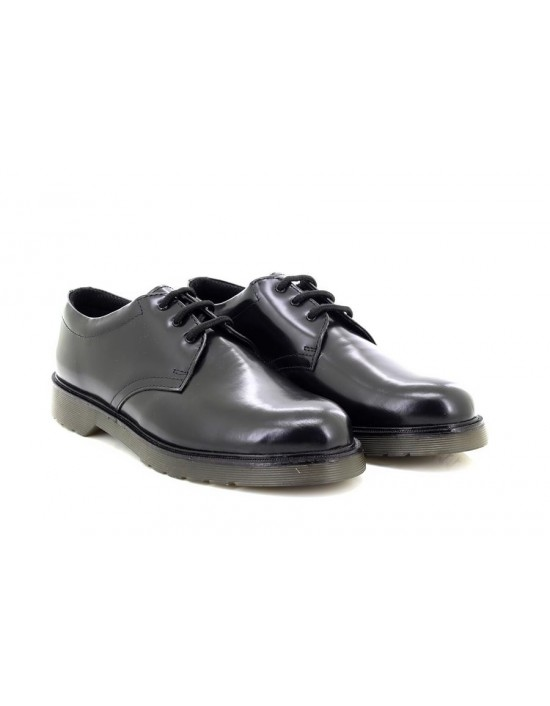 Mens Grafters Formal Hi-Shine Leather Uniform Shoes