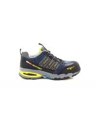 Unisex Grafters Nighthawk Composite Non Metal Safety Trainer Shoes