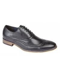 Mens Goor Classic Brogue Oxford Lace Up Shoes