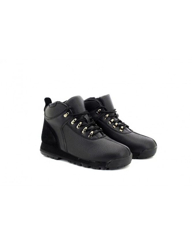 Renegade Sole Unisex Walking Shoes Hiking Boots Black
