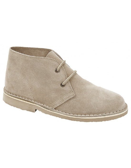 Roamers L777 Ladies 2 Eyelet Leather Fashion Ankle Desert Boots