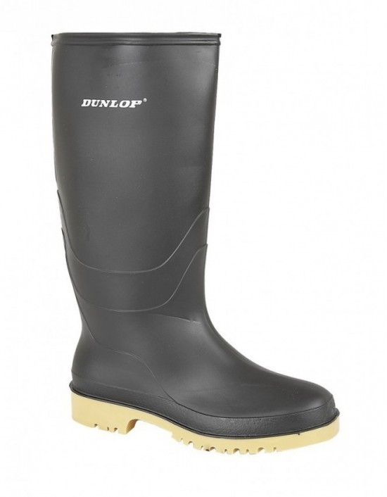 Dunlop DULL W028 Unisex Easy Clean PVC Wellingtons Boots
