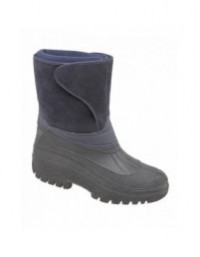StormWells W236 Unisex Touch Fastening Insulated Wellington Storm Boots