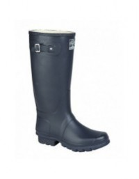 Woodland W260 WIDE FIT Quality Strap Unisex Wellingtons Boots