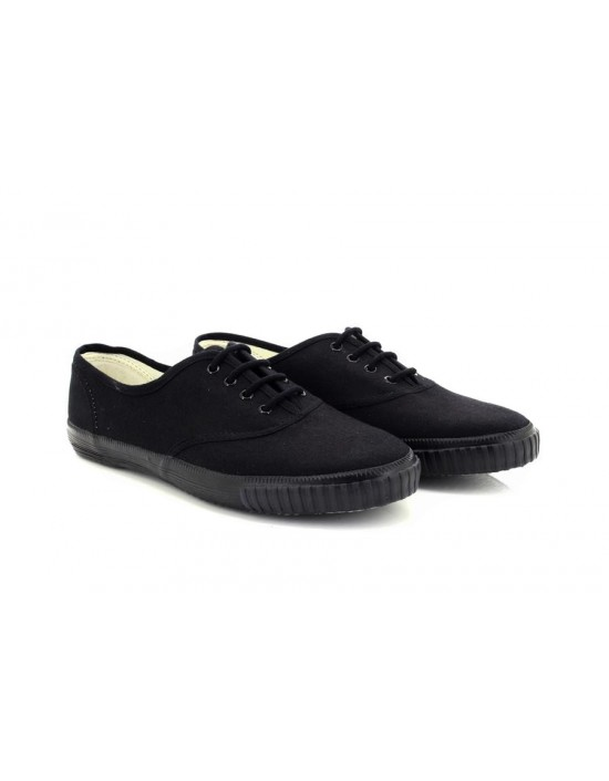 Dek Unisex 4 Eyelet PE School Plimsolls Canvas Shoes