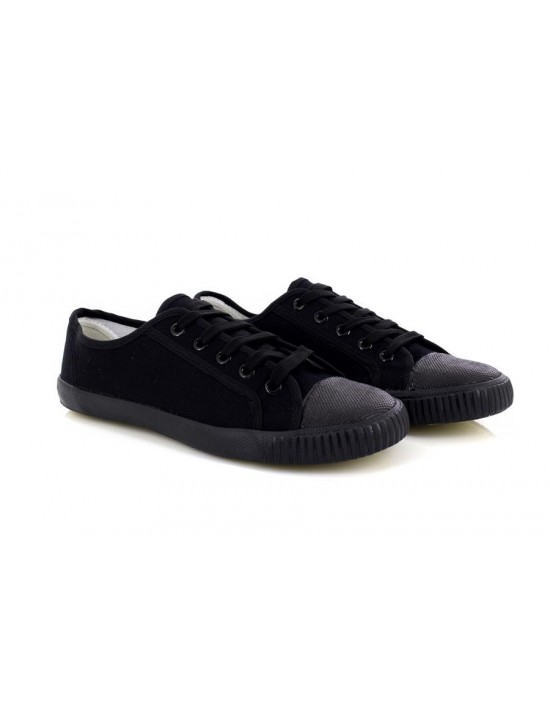 Unisex DEK R4390 Rubber Front Lace Up School Pe Plimsols Pumps