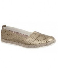 Boulevard L262 Women's Wide Fit Casual Slip On Shoes