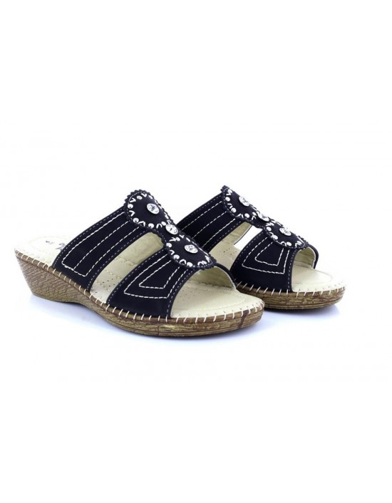 ce644b52d Dr Keller Capricorn Wide Fit Slip On Diamante Summer Padded Wedge Sandals  Dr Keller Capricorn Wide.