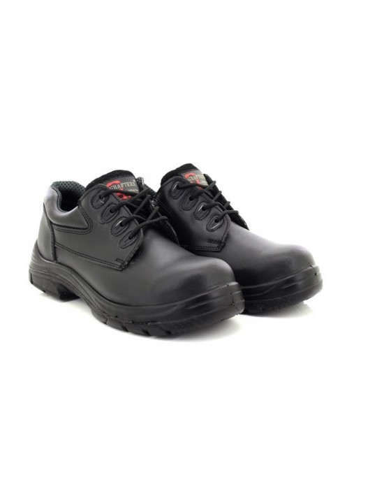 Grafters M9504A Super Wide EEEE Fitting 4 Eyelet Safety Shoe