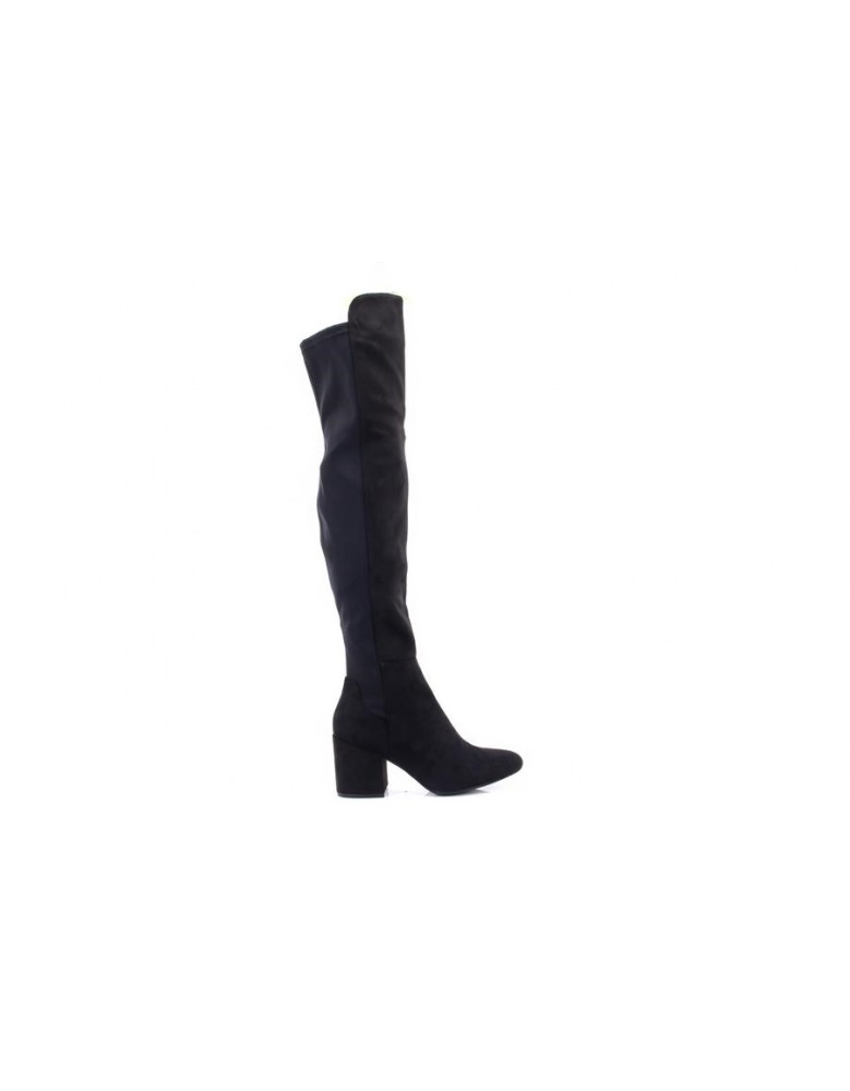7ddc041b646 Ladies Truffle Collection Block Heel Knee High Boot Tall Long Over the Knee  Shoes