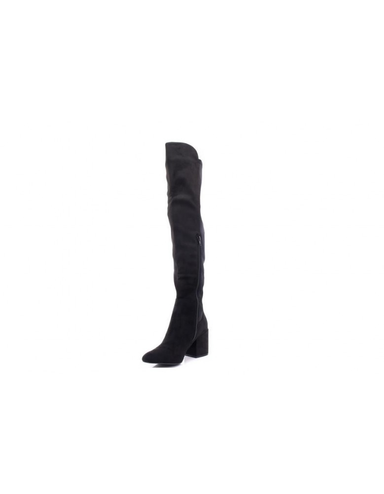 8e75f678ce9 Ladies Truffle Collection Block Heel Knee High Boots
