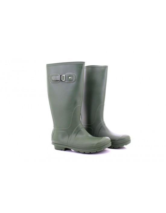 StormWells Womens Strap Wellington Boots Green