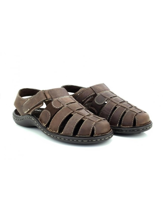 093df402fb5 Dr Keller Real Leather Closed Toe Flexible Summer Casual Sandals