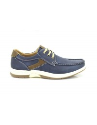 Dr Keller Navy 3 Eye Leisure Deck Type Boat Shoes