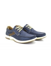 Dr Keller DEC Navy 3 Eye Leisure Deck Type Boat Shoes
