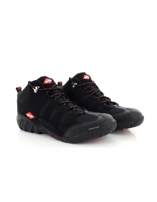 Lee Cooper LC020 Trainer Hiker Leather Safety Toe Cap Ankle Boots