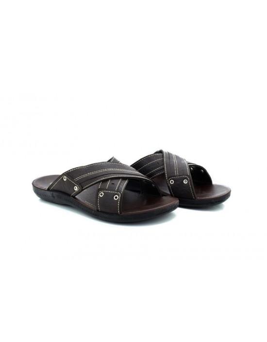Mens Gezer Dale Brown Sandals Walking Slip On Sports Mules Spring Summer Beach Shoes